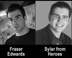 Fraser Edwards is Sylar