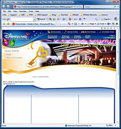Disney Land Paris - Hotel Booking